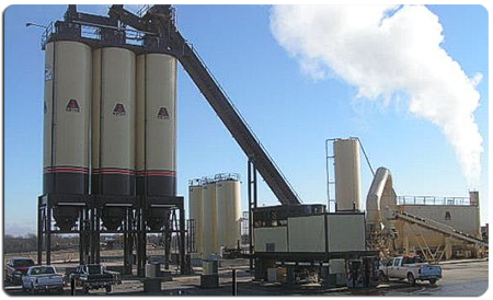 CJC offers quality industrial coatings for AGGREGATE plants