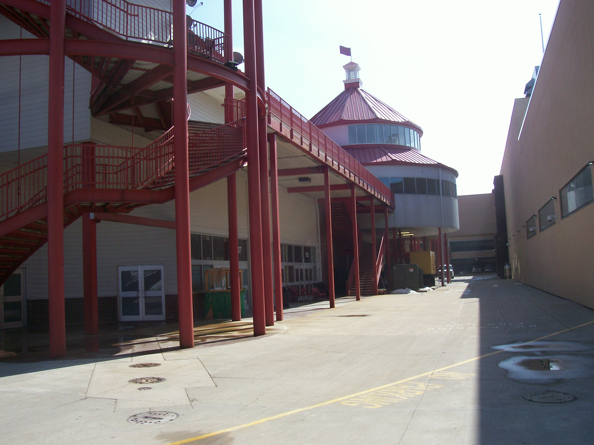 horse track commercial building painting and services