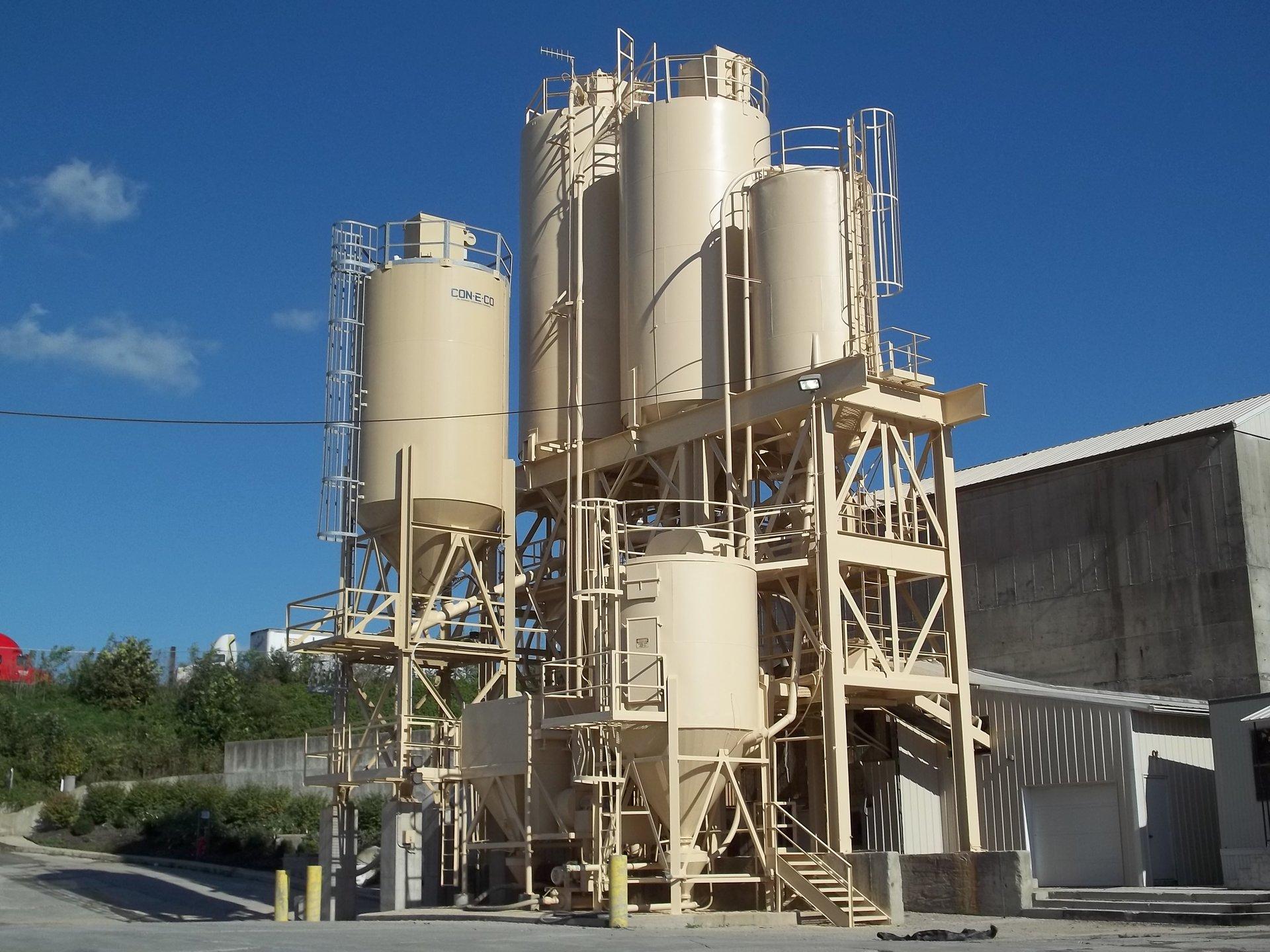CJC Painting outdoor concrete paint for concrete plants
